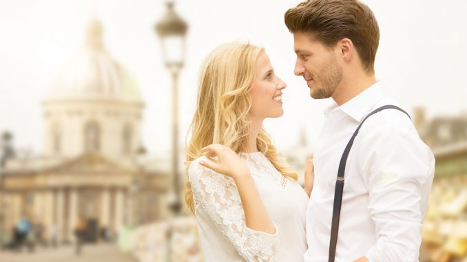 Glückliche partnerschaft durch eine Heiratsvermittlung