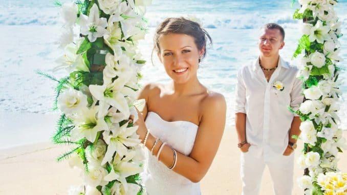 Hochzeitslocations - z.B. der Strand