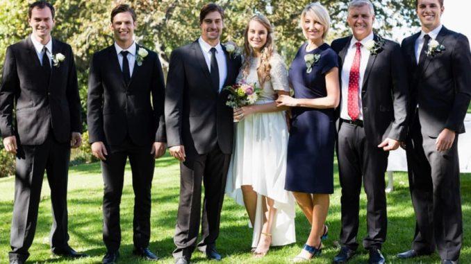 festliche Hochzeitsmode für Gäste